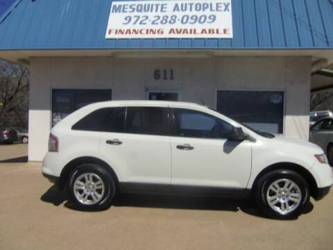 2009 Ford Edge for sale at MESQUITE AUTOPLEX in Mesquite TX