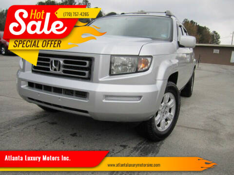2007 Honda Ridgeline for sale at Atlanta Luxury Motors Inc. in Buford GA