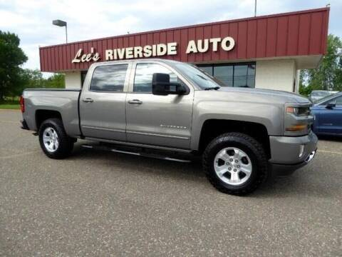 2017 Chevrolet Silverado 1500 for sale at Lee's Riverside Auto in Elk River MN
