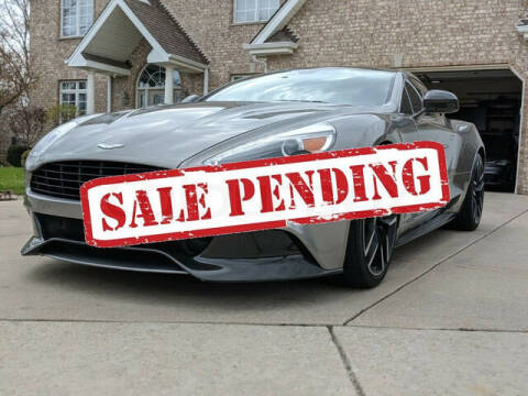 2015 Aston Martin Vanquish for sale at ELITE MOTOR CARS OF MIAMI in Miami FL
