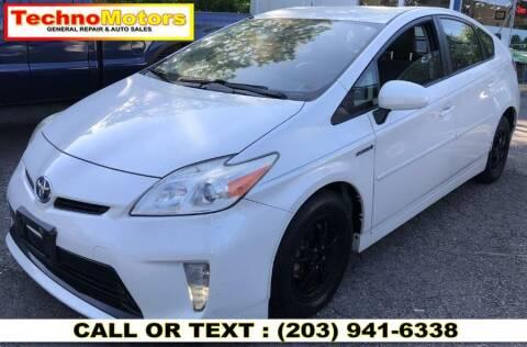 2012 Toyota Prius for sale at Techno Motors in Danbury CT