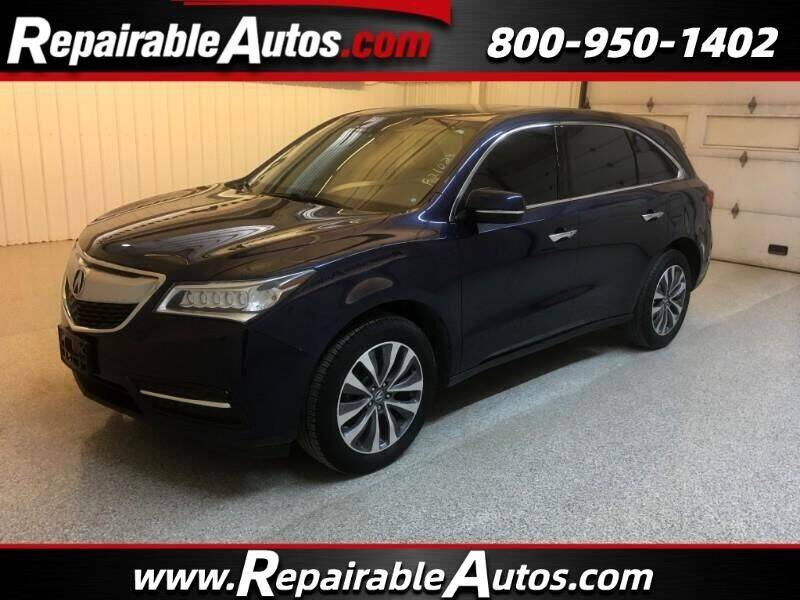 2016 Acura MDX for sale at Ken's Auto in Strasburg ND