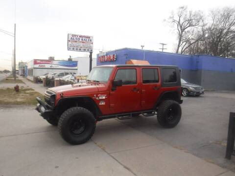 2009 Jeep Wrangler Unlimited for sale at City Motors Auto Sale LLC in Redford MI