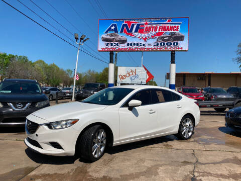 2016 Mazda MAZDA6 for sale at ANF AUTO FINANCE in Houston TX