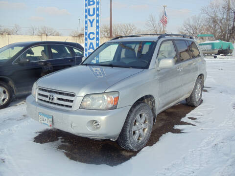 2004 Toyota Highlander for sale at Metro Motor Sales in Minneapolis MN