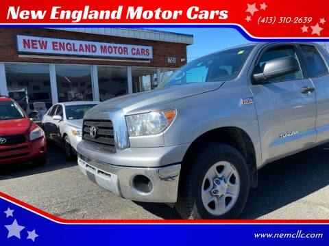 2007 Toyota Tundra for sale at New England Motor Cars in Springfield MA