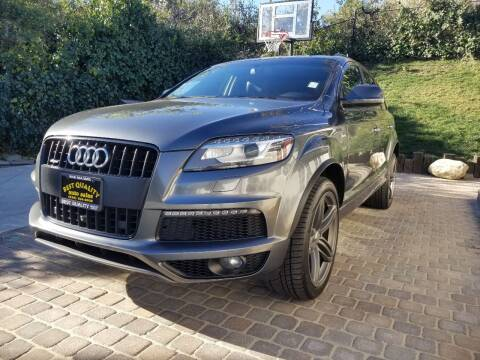 2015 Audi Q7 for sale at Best Quality Auto Sales in Sun Valley CA