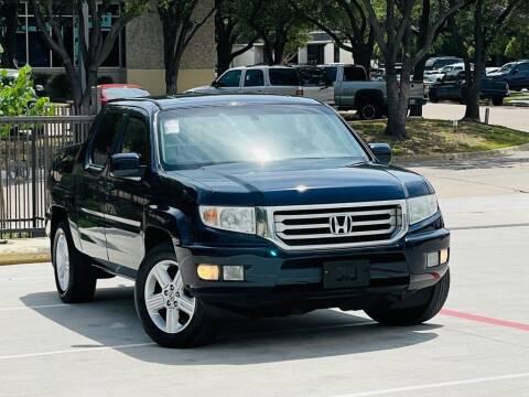 2012 Honda Ridgeline for sale at Texas Drive Auto in Dallas TX