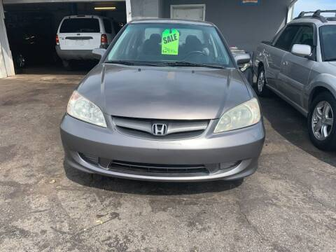 2005 Honda Civic for sale at Allan Auto Sales, LLC in Fall River MA