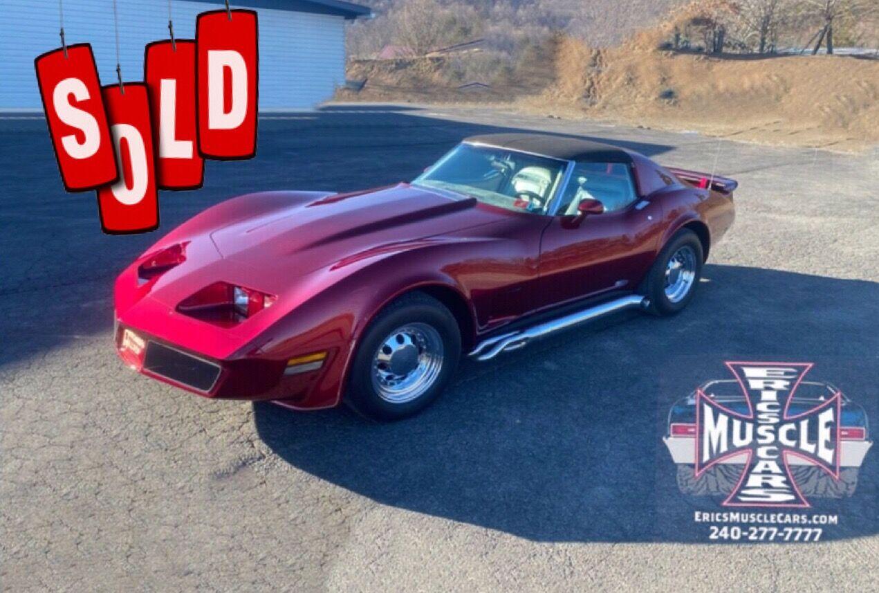1974 Chevrolet Corvette SOLD SOLD SOLD