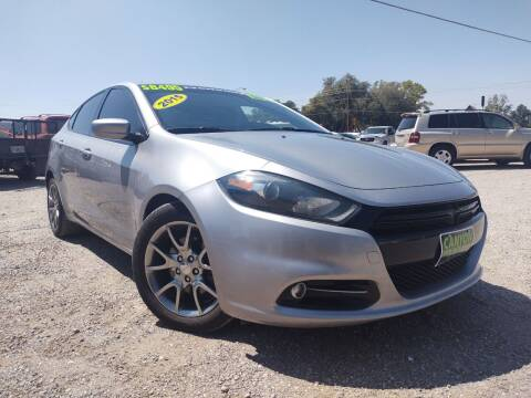 2015 Dodge Dart for sale at Canyon View Auto Sales in Cedar City UT