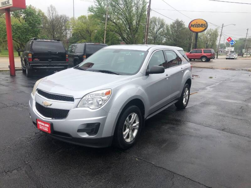 2011 Chevrolet Equinox for sale at Parkside Auto Sales & Service in Pekin IL
