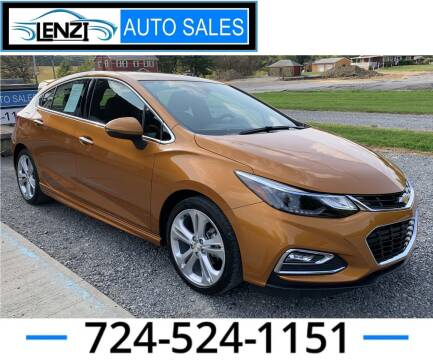 2017 Chevrolet Cruze for sale at LENZI AUTO SALES in Sarver PA