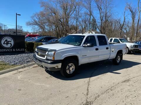 2005 Chevrolet Silverado 1500HD for sale at Station 45 Auto Sales Inc in Allendale MI