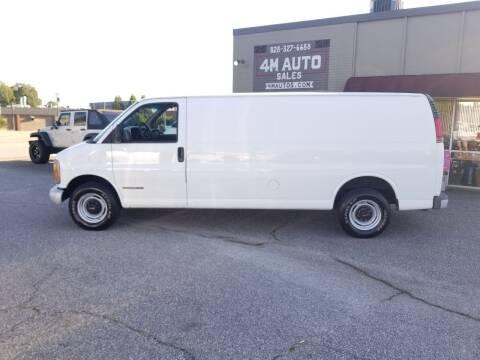 2000 GMC Savana Cargo for sale at 4M Auto Sales | 828-327-6688 | 4Mautos.com in Hickory NC