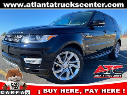 2014 Land Rover Range Rover Sport for sale at ATLANTA TRUCK CENTER LLC in Brookhaven GA
