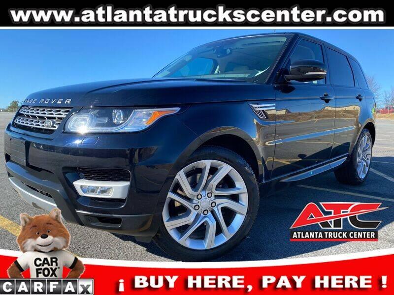 2014 Land Rover Range Rover Sport for sale at ATLANTA TRUCK CENTER LLC in Brookhaven GA