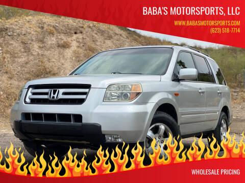 2006 Honda Pilot for sale at Baba's Motorsports, LLC in Phoenix AZ