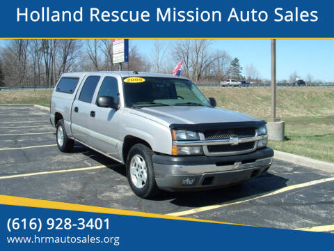 2005 Chevrolet Silverado 1500 for sale at Holland Rescue Mission Auto Sales in Holland MI