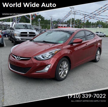2015 Hyundai Elantra for sale at World Wide Auto in Fayetteville NC
