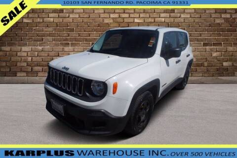 2015 Jeep Renegade for sale at Karplus Warehouse in Pacoima CA