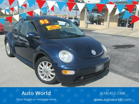2005 Volkswagen New Beetle for sale at Auto World in Carbondale IL