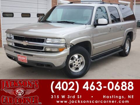 2000 Chevrolet Suburban for sale at Jacksons Car Corner Inc in Hastings NE