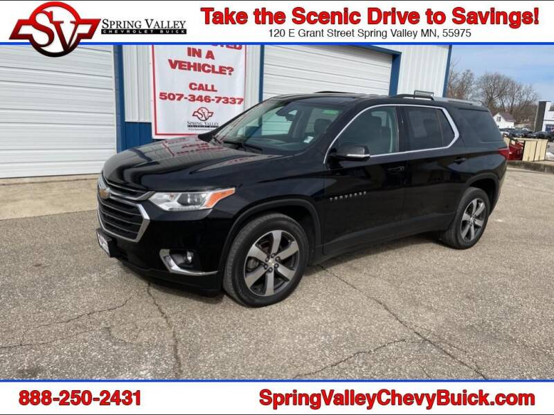 2018 Chevrolet Traverse for sale at Spring Valley Chevrolet Buick in Spring Valley MN