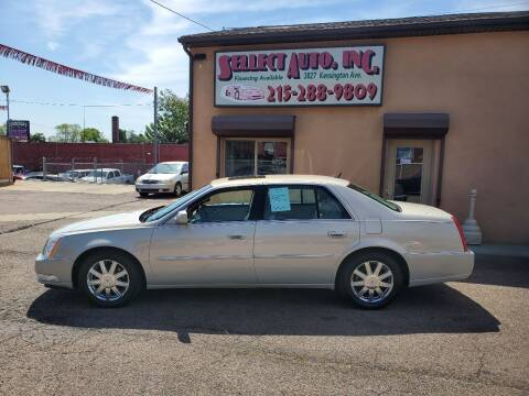 2007 Cadillac DTS for sale at SELLECT AUTO INC in Philadelphia PA
