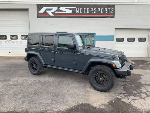 2017 Jeep Wrangler Unlimited for sale at RS Motorsports, Inc. in Canandaigua NY