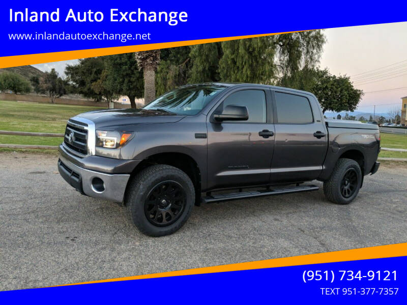 2013 Toyota Tundra for sale at Inland Auto Exchange in Norco CA