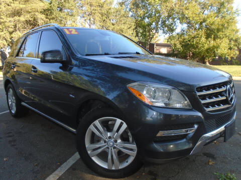 2012 Mercedes-Benz M-Class for sale at Sunshine Auto Sales in Kansas City MO
