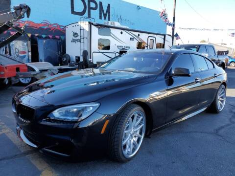 2015 BMW 6 Series for sale at DPM Motorcars in Albuquerque NM