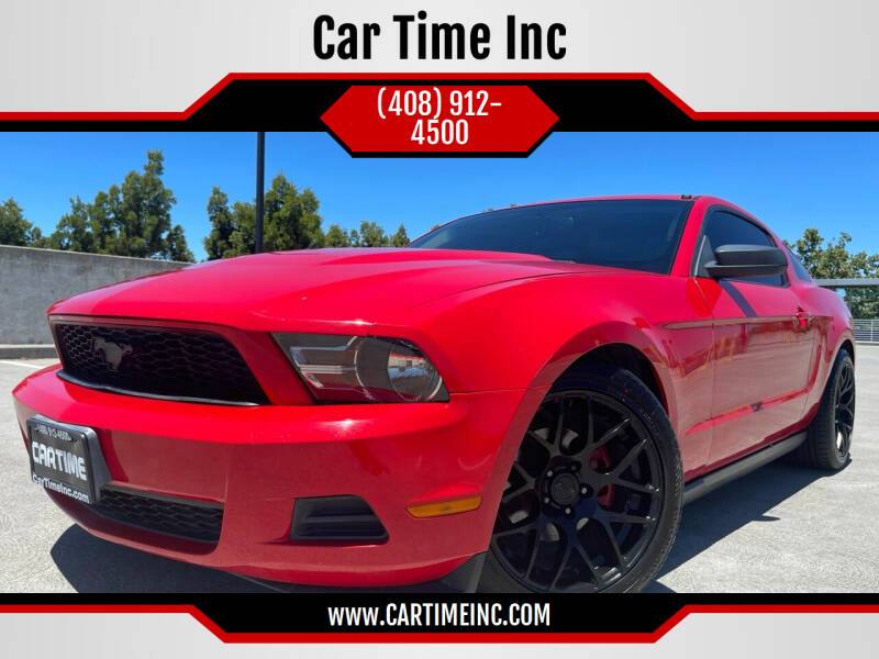2010 Ford Mustang for sale at Car Time Inc in San Jose CA