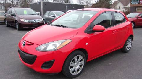 2011 Mazda MAZDA2 for sale at Eagle's Wings Auto Sales in Hilton NY