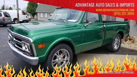 1972 GMC Sierra 1500HD Classic for sale at Advantage Auto Sales & Imports Inc in Loves Park IL
