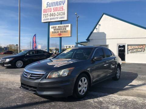 2011 Honda Accord for sale at Sunray Auto Sales Inc. in Holiday FL