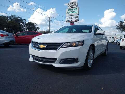 2016 Chevrolet Impala for sale at BAYSIDE AUTOMALL in Lakeland FL