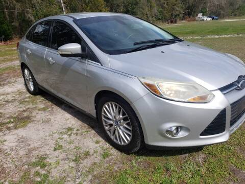 2012 Ford Focus for sale at Easy Street Auto Brokers in Lake City FL