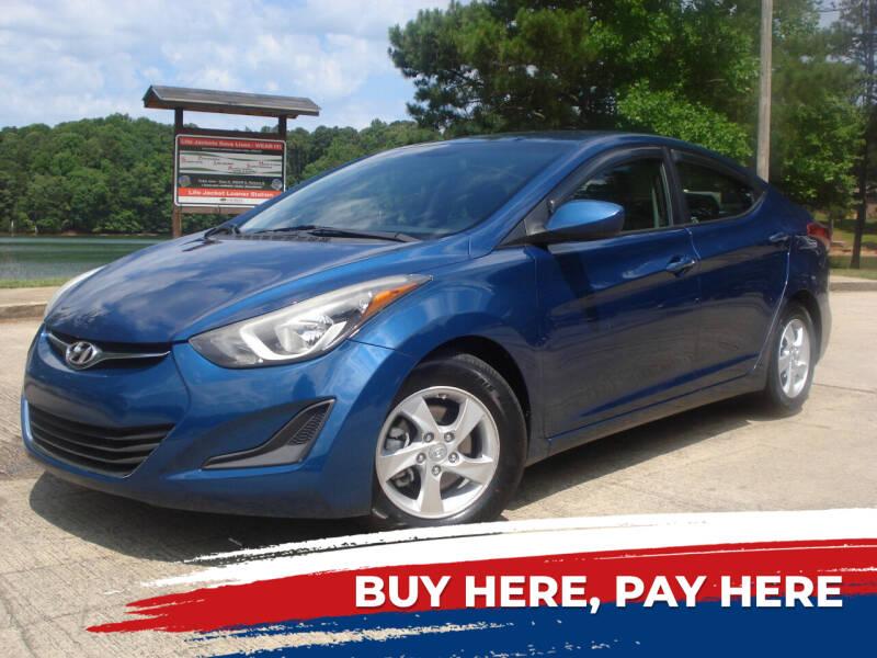 2014 Hyundai Elantra for sale at Car Store Of Gainesville in Oakwood GA