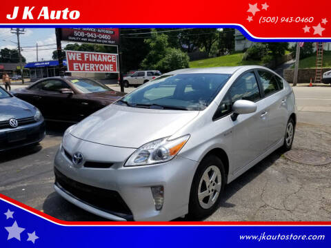 2015 Toyota Prius for sale at Webster Auto Sales in Webster MA