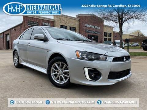 2016 Mitsubishi Lancer for sale at International Motor Productions in Carrollton TX