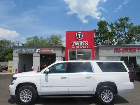 2020 Chevrolet Suburban for sale at Twins Auto Sales Inc in Detroit MI