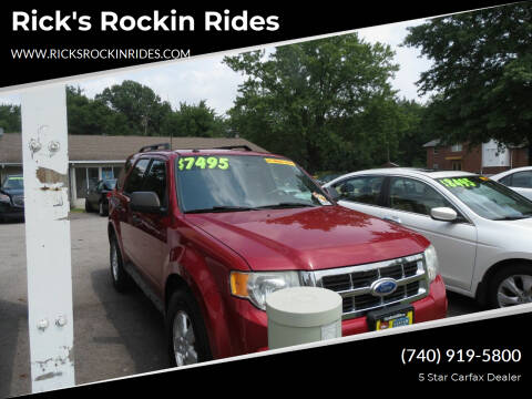 2011 Ford Escape for sale at Rick's Rockin Rides in Reynoldsburg OH