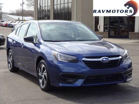 2020 Subaru Legacy for sale at RAVMOTORS 2 in Crystal MN