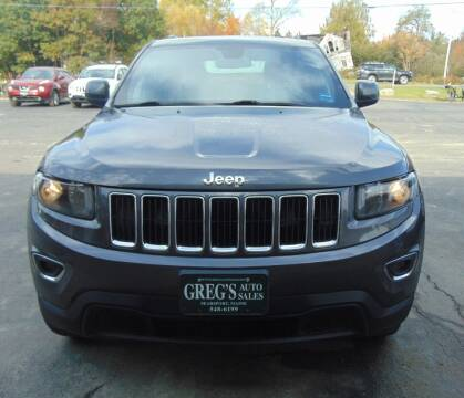 2016 Jeep Grand Cherokee for sale at Greg's Auto Sales in Searsport ME