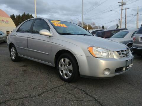 2006 Kia Spectra for sale at Low Auto Sales in Sedro Woolley WA