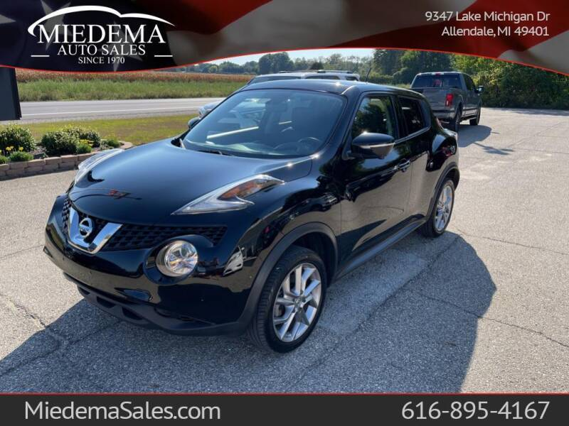 2016 Nissan JUKE for sale at Miedema Auto Sales in Allendale MI