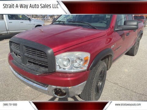 2007 Dodge Ram Pickup 1500 for sale at Strait-A-Way Auto Sales LLC in Gaylord MI