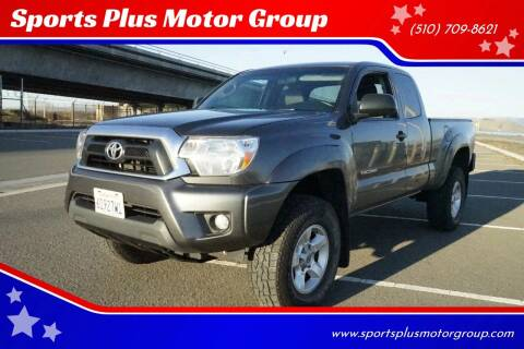 2015 Toyota Tacoma for sale at Sports Plus Motor Group LLC in Sunnyvale CA